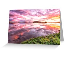 Smoldering Sky Greeting Card