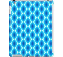 Luminous Abstract Pattern in Shades of Blue iPad Case/Skin