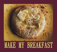 Make My Breakfast - yellow by aint-no-zombie