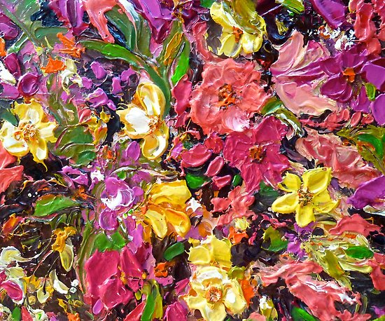 Floral Touch by Cathy Gilday