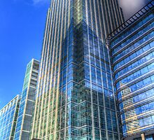 Canary Wharf by DavidHornchurch