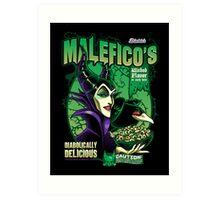 Malefico's - Wicked Flavor In Each Bite! Art Print