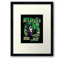 Malefico's - Wicked Flavor In Each Bite! Framed Print