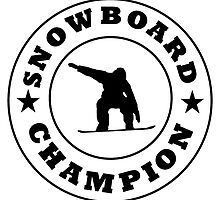 Snowboard Champion by kwg2200