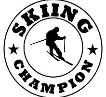 Skiing Champion by kwg2200