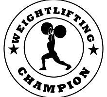Weightlifting Champion by kwg2200