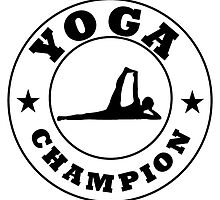 Yoga Champion by kwg2200