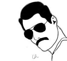 Freddie Mercury  by UnLeashedArt