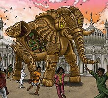 The Maharaja's New Toy by Pete Katsiaounis