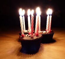 Birthday Candles by Michelle Ordever