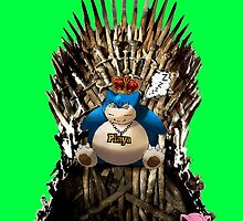 Snorlax and Jigglypuff take the Iron Throne by djprice