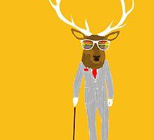 Gentleman stag by levman