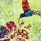 Three Birds - Spring Art By Sharon Cummings by Sharon Cummings