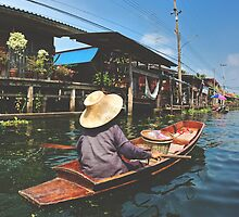 Thai floating market by agnescsondor