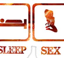 Eat Sleep Sex Bacon T-Shirst & Hoodies Sticker