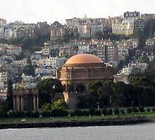 PALACE OF FINE ARTS SAN FRANCISCO, CALIFORNIA by JAYMILO