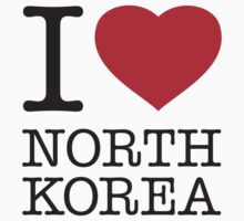 I ♥ NORTH KOREA by eyesblau