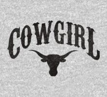 Cowgirl - Longhorn by printproxy