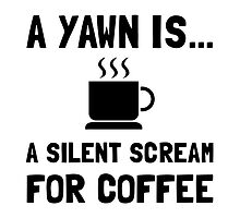 Yawn Coffee by AmazingMart