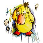 Psyduck by StuffHobo