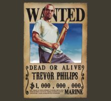Wanted Poster Trevor Philips by BadrHoussni