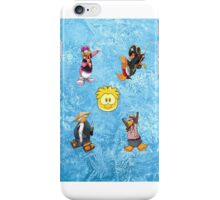 Club Penguin Party iPod Touch 4G iPhone Case/Skin
