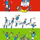 World Cup 2014 ITALIA by colortown