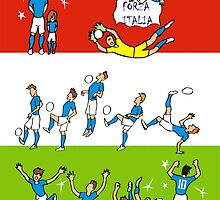 Worldcup 2014 ITALIA by colortown