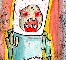 Finn the zombie by byronrempel