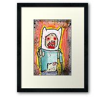 Finn the zombie Framed Print
