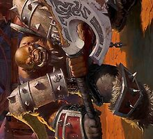 Garrosh - Hearthstone by Alpinoalves
