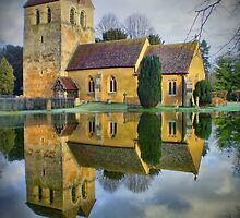 The Parish Church of St Bartholomew's Fingest - HDR by Colin J Williams Photography