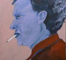 Dylan Thomas by TheArtChappy
