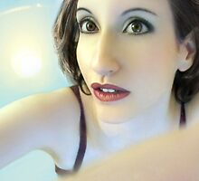 Truth Seeker - Self Portrait by Jaeda DeWalt