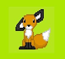 pixel fox by wolffy