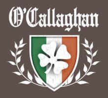 O'Callaghan Family Shamrock Crest (vintage distressed) Kids Clothes
