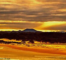 Sawtell Sunset by wallarooimages