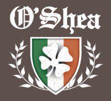 O'Shea Family Shamrock Crest (vintage distressed) Kids Clothes
