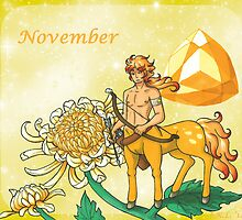 November Zodiac by Akumabaka