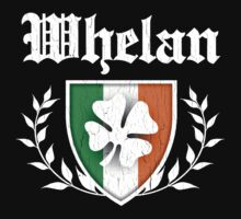 Whelan Family Shamrock Crest (vintage distressed) by robotface