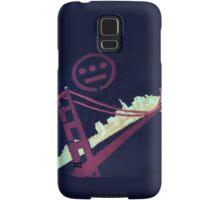 Stencil Golden Gate San Francisco Samsung Galaxy Case/Skin