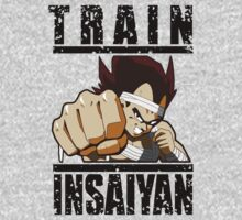 VEGETA Train Insaiyan: battle damage by KingKoko