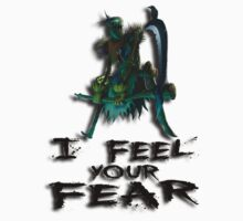 Fiddlesticks - I feel your fear by CataRB