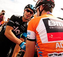 Cadel Evans and Richie Porte by Eamon Fitzpatrick