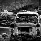7.3.2014: Death of Old Car by Petri Volanen