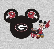 Mickey Mouse Georgia Bulldogs fan by sweetsisters