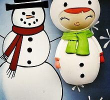 Momiji Doll - Snowlady (Iphone-Ipod) by Alpinoalves