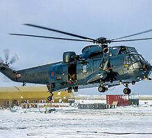 Westland Sea King HAS.5 XZ577/42 at RAF Stanley by Colin Smedley