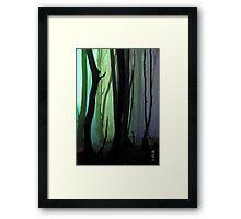 Creep Framed Print