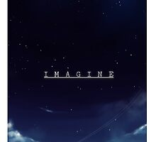 IMAGINE- PHONE CASE by ElectricEmotion